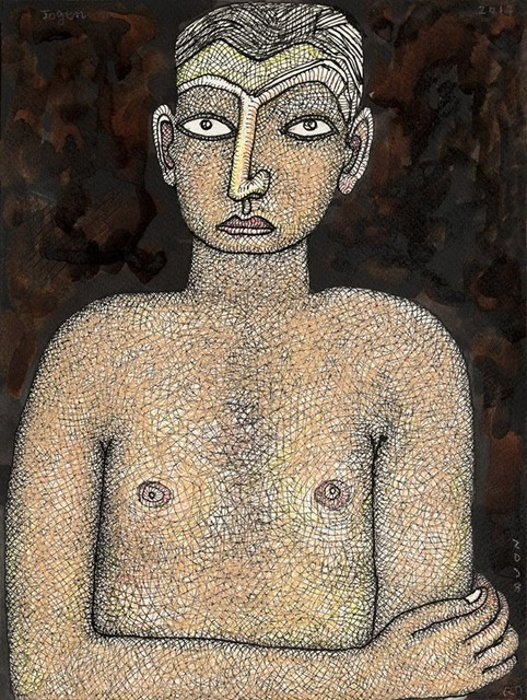 , 'Young Boy,' 2014, Sanchit Art
