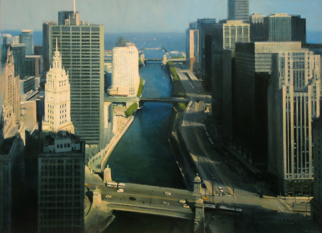 , 'Chicago River,' 2017, Jenkins Johnson Gallery
