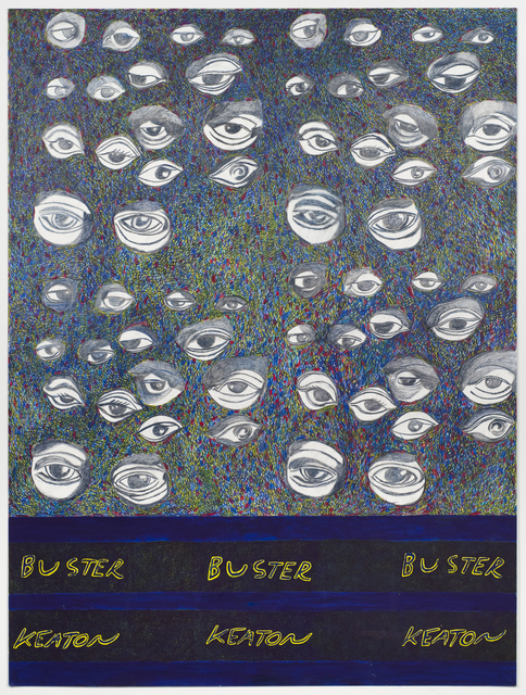 , 'Portrait of Buster Keaton,' 2016, Fleisher/Ollman
