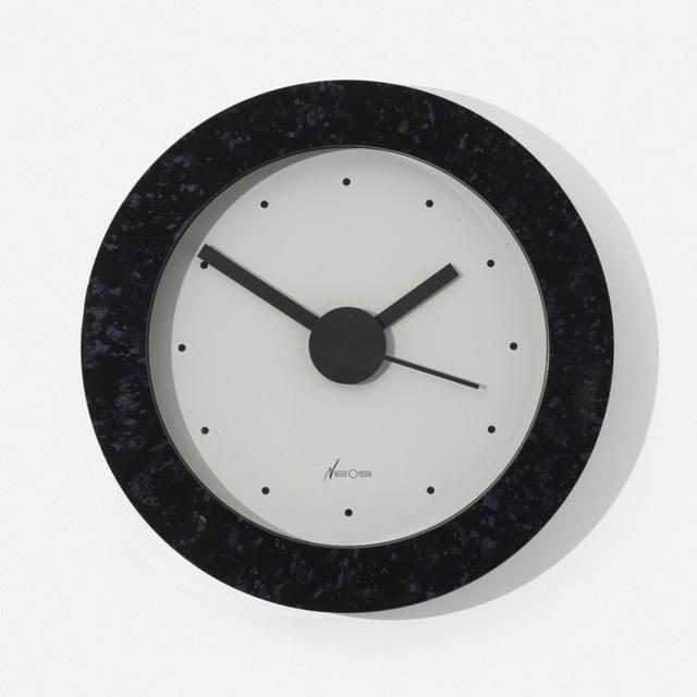 Nathalie Du Pasquier, 'Neos wall clock', c. 1988, Wright