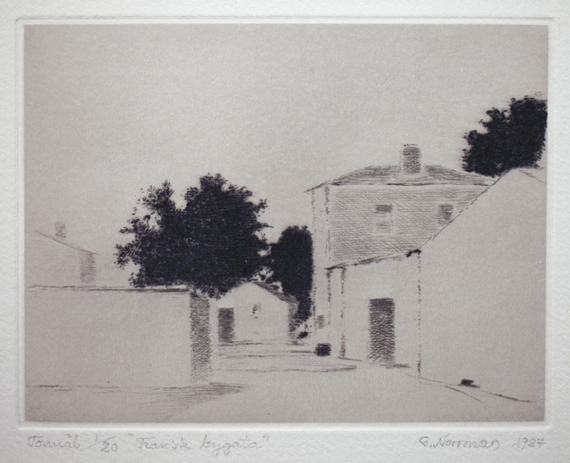 , 'Fransk bygata (French Village Street),' , Pucker Gallery