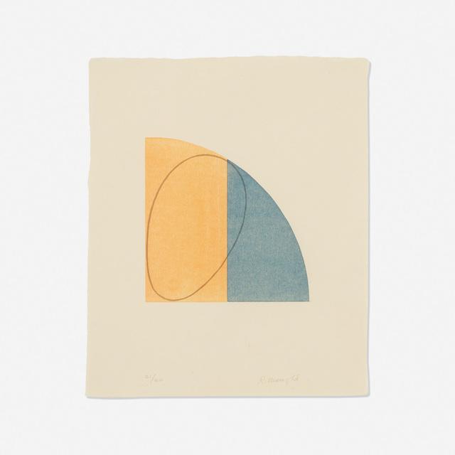Robert Mangold, 'Curved Plane/Figure II', 1995, Wright