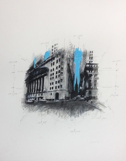 , 'Wall Street in Space,' 2014, Octavia Art Gallery
