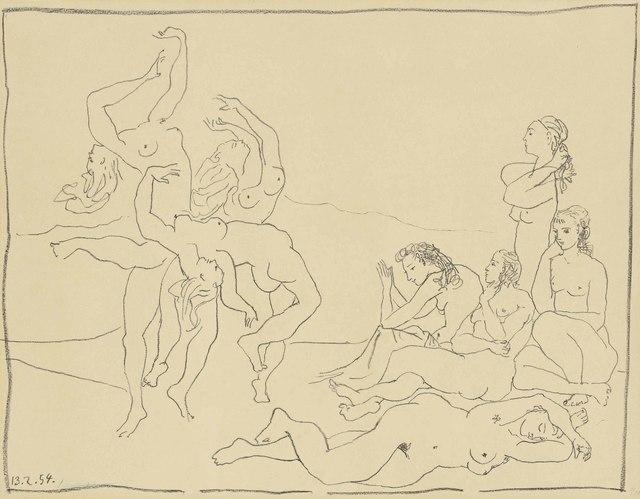 Pablo Picasso, 'Danses', 1954, Christie's