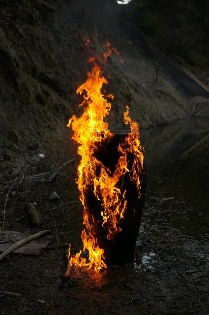 , 'Void-Wooden Pot: the Documentation of Firing 002,' 2013, SCAI The Bathhouse