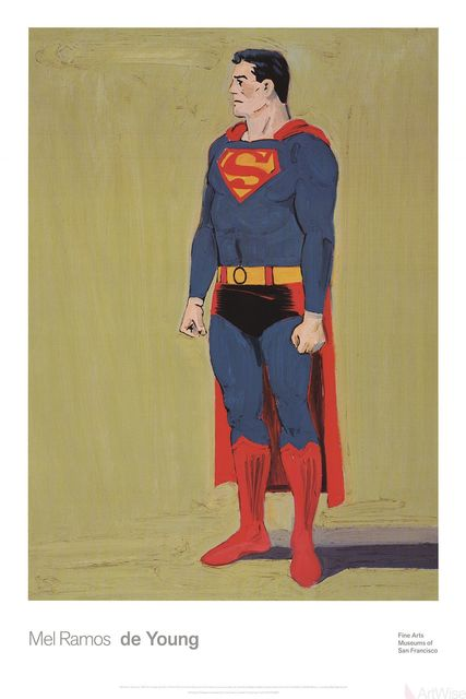 Mel Ramos, 'Superman', 2014, Ephemera or Merchandise, Offset Lithograph, ArtWise