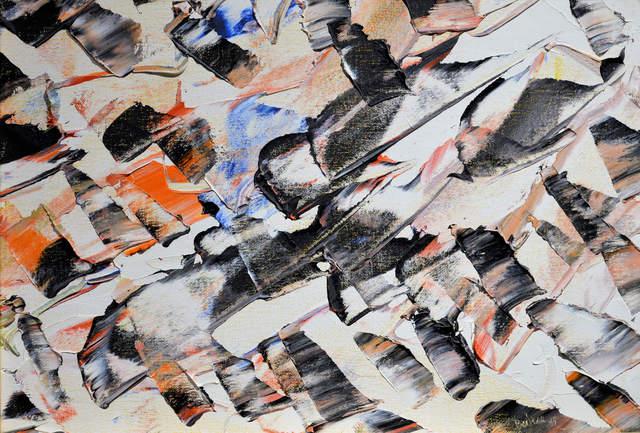 """, '""""Dents de sable a cran d'acier ou Le langage de sources"""",' 1947, Canadian Art Group"""