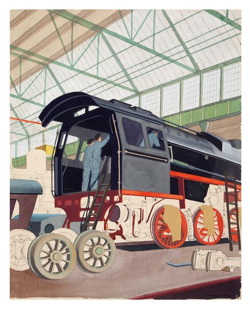 , 'Lokomotivbau, Henschel,' ca. 1936, Galerie Michael Hasenclever KG