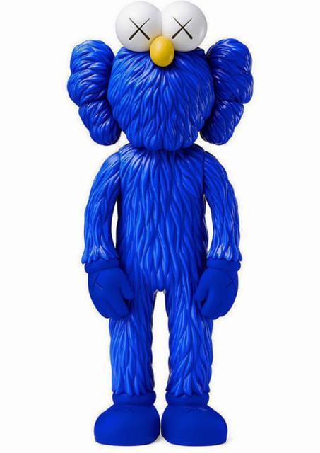 KAWS, 'KAWS BFF Blue Companion (blue KAWS BFF)', 2017, Sculpture, Painted Vinyl Cast Resin Figure, Lot 180