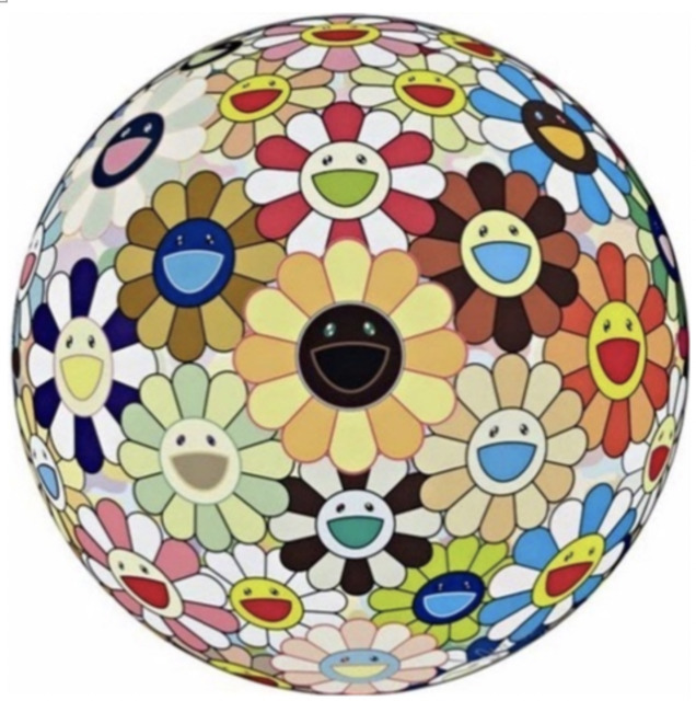 Takashi Murakami, 'Flower Ball(3D) Sunflower ひまわり', 2011, Der-Horng Art Gallery