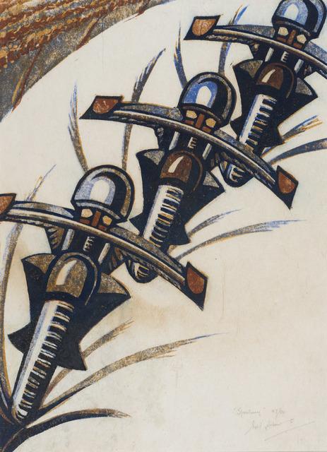 , 'Speedway,' 1934, Redfern Gallery Ltd.