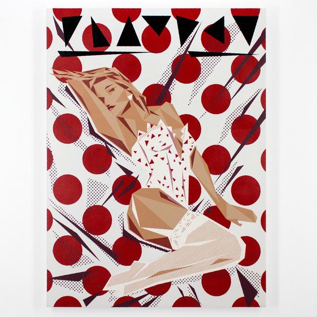 , 'Pamela Halftone,' 2015, Joseph Gross Gallery