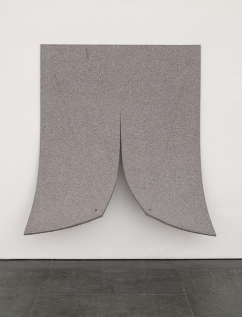 , 'Work on Felt (Variation 8),' 2015, Páramo