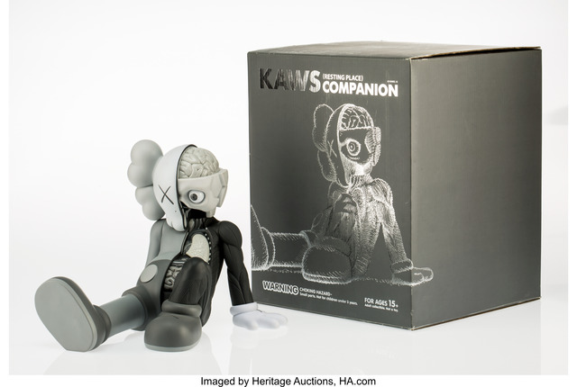 KAWS, 'Companion (Resting Place) (Grey)', 2013, Heritage Auctions