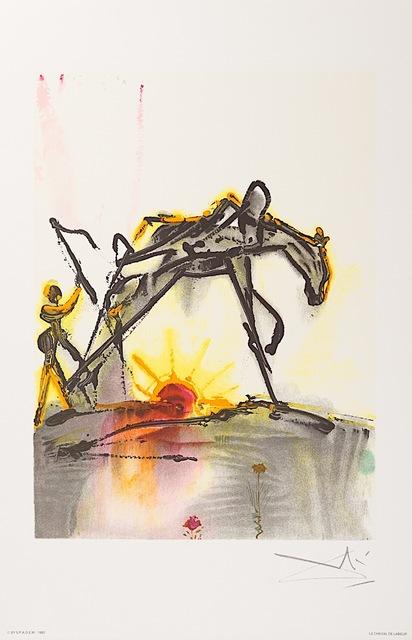 Salvador Dalí, 'Le Cheval de Labeur (The Horse of Labor)', 1983, Art Lithographies