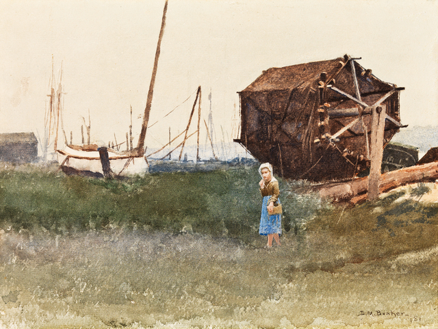 , 'The Fisher Girl, Nantucket,' 1881, Adelson Cavalier Galleries