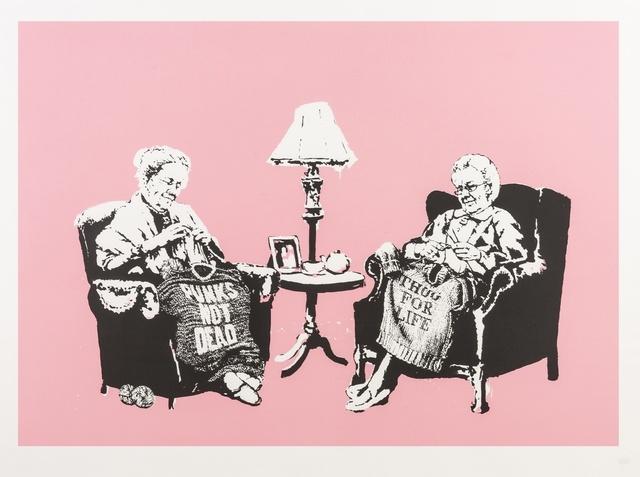 Banksy, 'Grannies', 2006, Forum Auctions