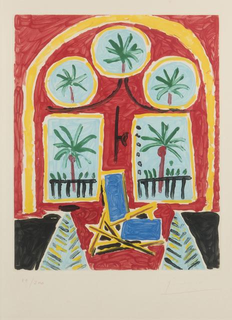 Pablo Picasso, 'La fenêtre de l'atelier à la Californie', 1959, John Moran Auctioneers