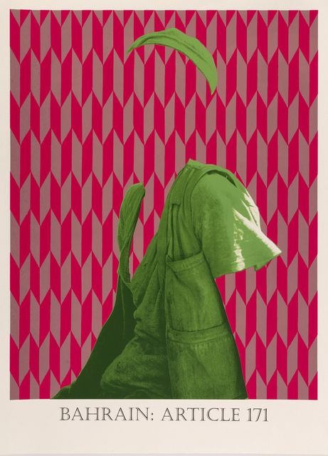 Matt Smith, 'Bahrain: Article 171', 2019, Print, Silkscreen Print on Handmade Indian Cotton Paper, Cynthia Corbett Gallery