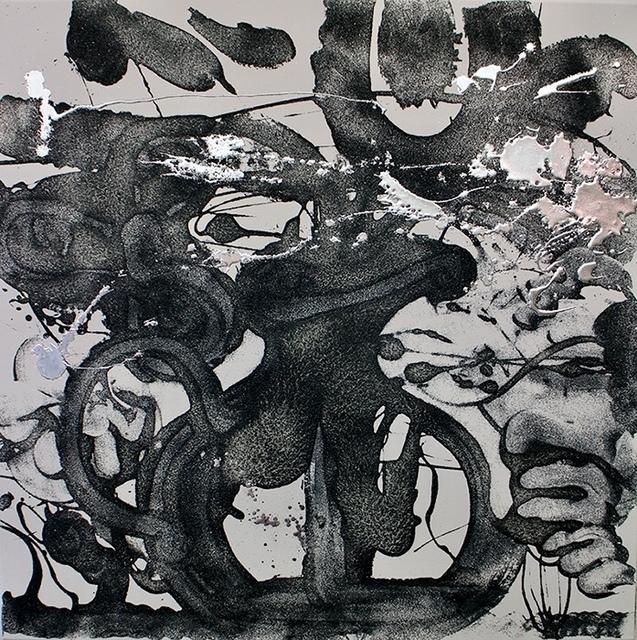 , 'Carborundum and Silver (Violet),' 2016, Spanierman Modern