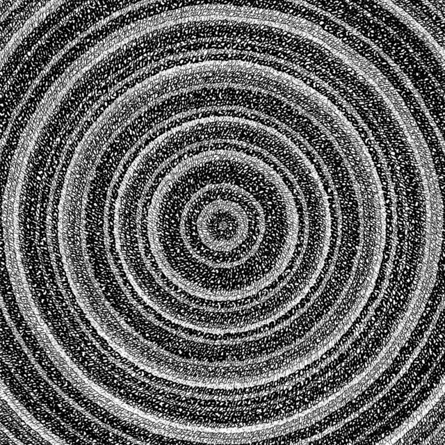"""James Vance, '""""Concentric Ink 3""""', 2019, Parlor Gallery"""