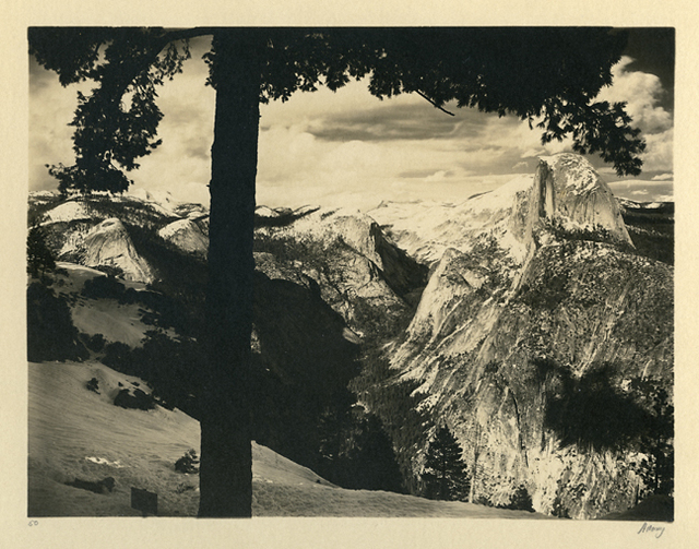 , 'From Glacier Point,' 1927, Scott Nichols Gallery