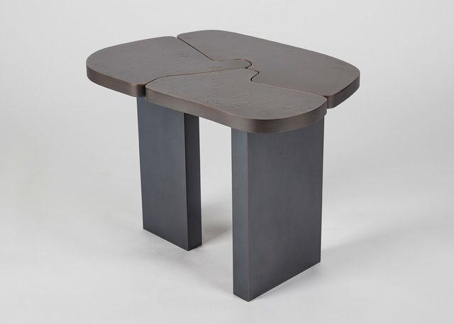 Douglas Fanning, 'Abstract Side Table', 2019, Design/Decorative Art, Bronze, blackened steel, Maison Gerard