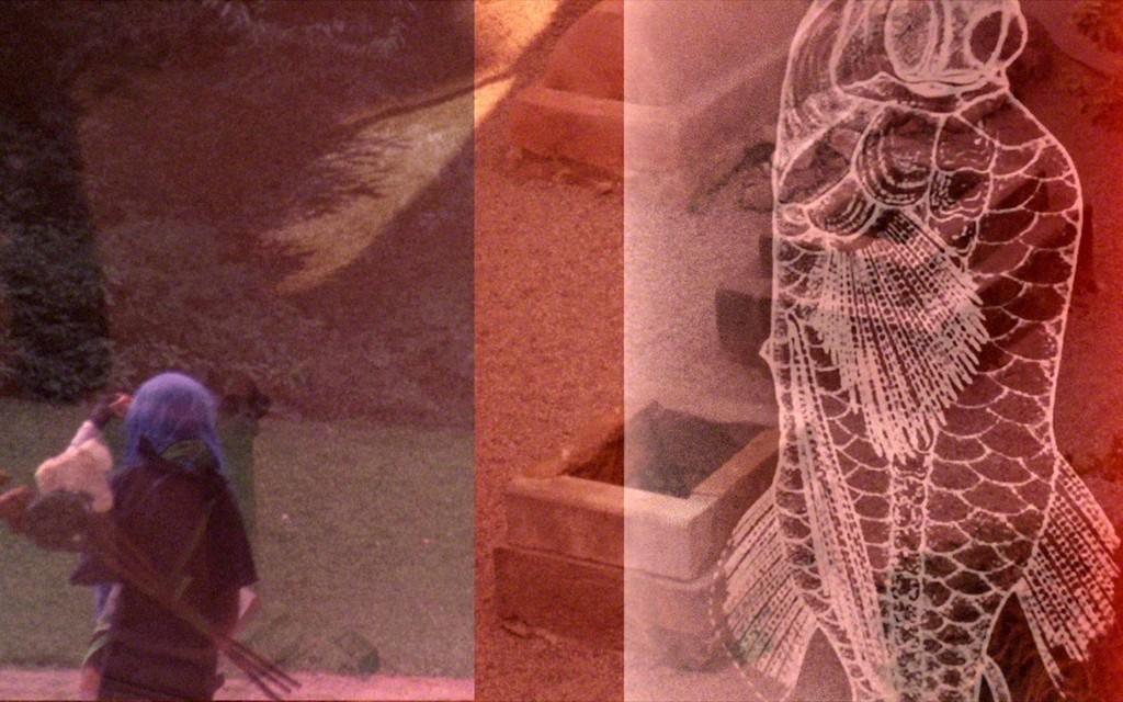 Basim Magdy, No Shooting Stars [Il n'y aura pas d'étoiles filantes], 2016.  Film Super 16 mm et GIF animés transférés sur vidéo Full HD. Coproduction Jeu de Paume, Paris, Fondation Nationale des Arts Graphiques et Plastiques et CAPC musée d'art contemporain de Bordeaux. © Basim Magdy, 2016