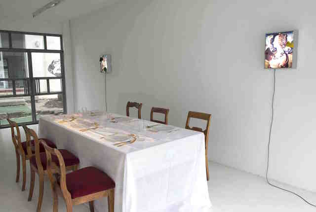 , 'LE FESTIN CANNIBALE, LA TABLE DU SAVOIR ET DU DESIR,' 1993, Brigitte March International Contemporary Art