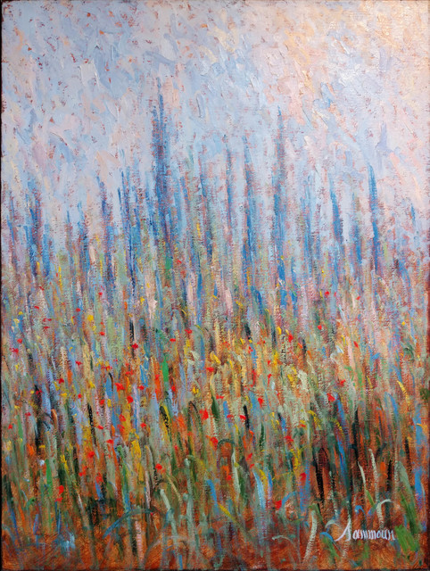 , 'Lavender III,' 2017, Galerie d'Orsay