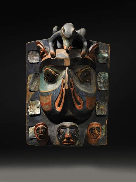 , 'Headdress/Frontlet (Bella Coola, Northwest Coast),' ca. 1880, Tambaran