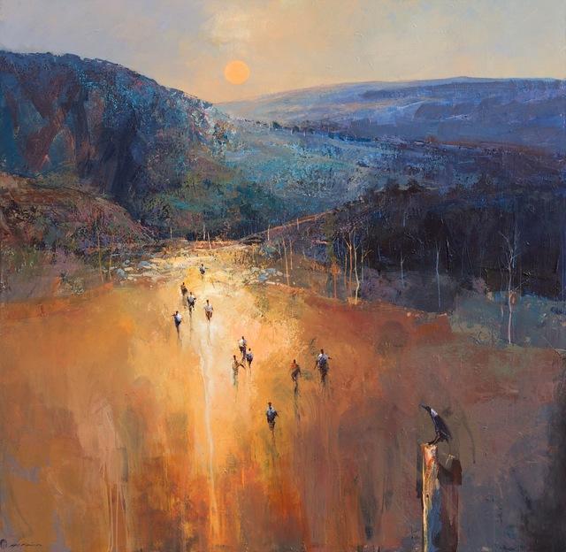 , 'Arriving Through Barrington Tops,' 2011-2014, Wentworth Galleries