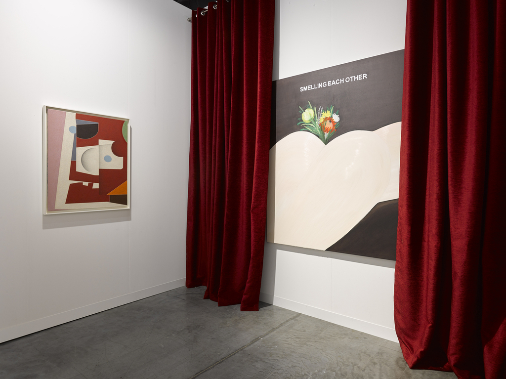 Installation view of Lisson Gallery at Art Basel Miami Beach, 2019 (5-8 December)