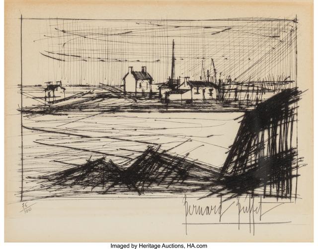 Bernard Buffet, 'Landscape', n.d., Heritage Auctions