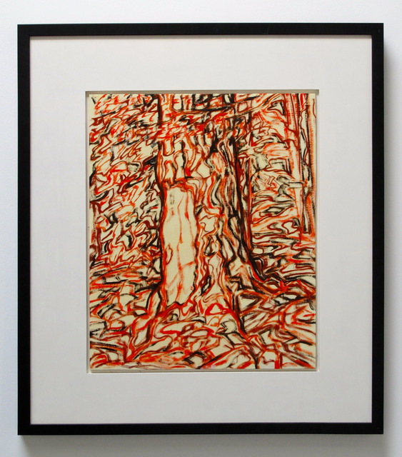 , 'Untitled/Red/Trunk,' 2012, Wilding Cran Gallery