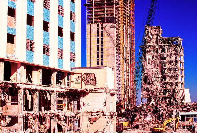 Mitchell Funk, 'Broken Building Miami', 1999, Robert Funk Fine Art