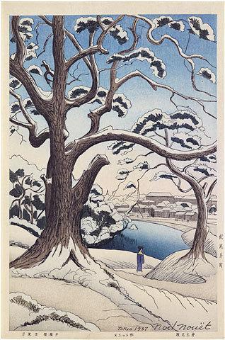 Noel Nouet, 'Scenes of Tokyo,Twenty-four Views: Kioi District', ca. 1937, Scholten Japanese Art
