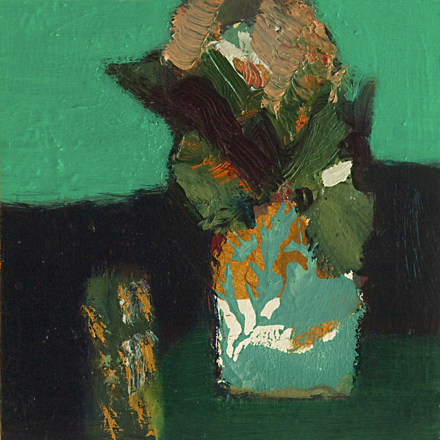 , 'Emerald with Pattern,' 2017, Wallace Galleries