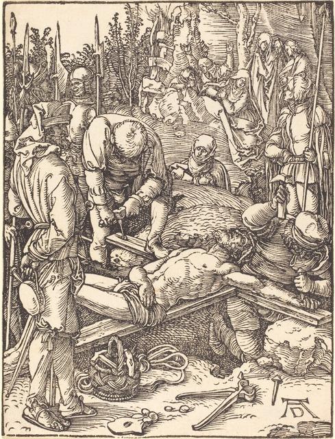 Albrecht Dürer | Christ Nailed to the Cross (probably c. 1509/1510 ...