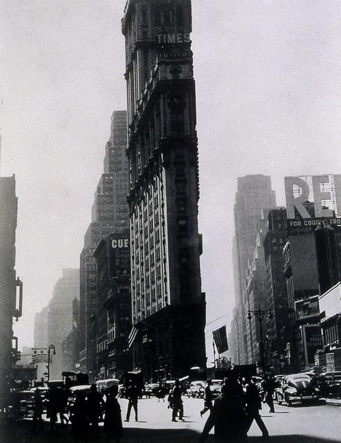 , 'Times Building,' ca. 1948, Tibor de Nagy