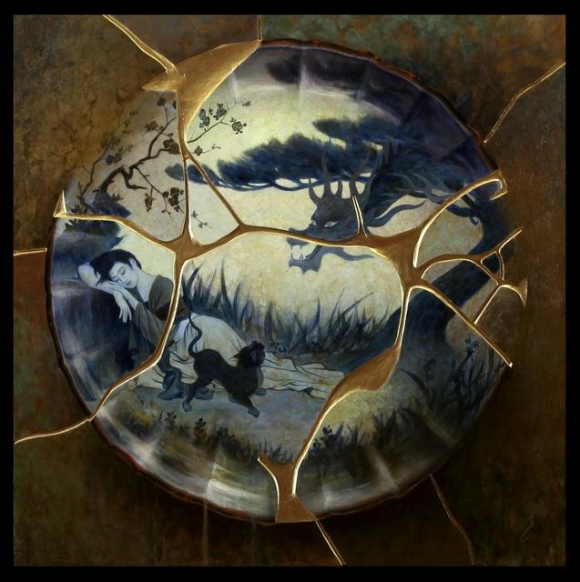, 'Whispering Dragon (Kintsukuroi),' , Galerie D'Avignon