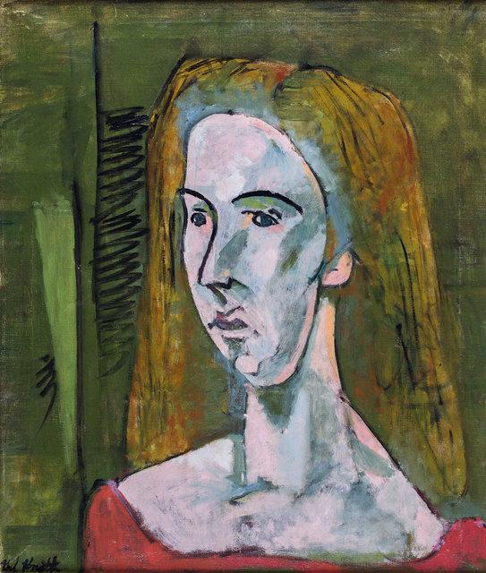 , 'Portrait of Mary,' 1949, Rosenberg & Co.