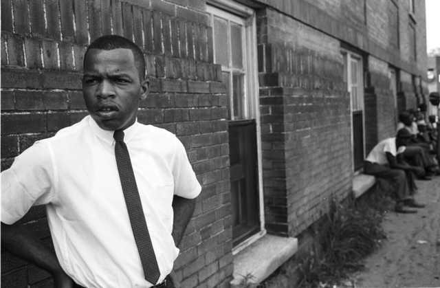 , 'John Lewis, Clarksdale, Mississippi, 1963,' 1963, Monroe Gallery of Photography