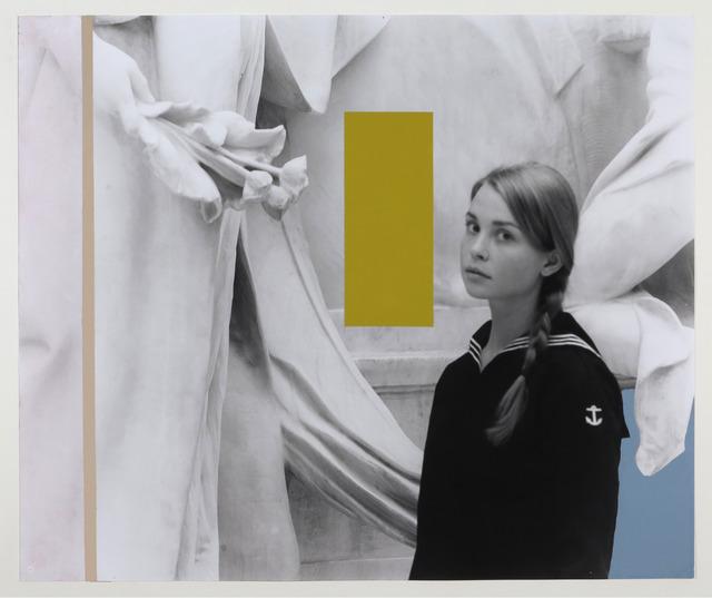 George Woodman, 'Alexandra in Met Receiving Flowers (and Colors)', 2012, Nina Johnson