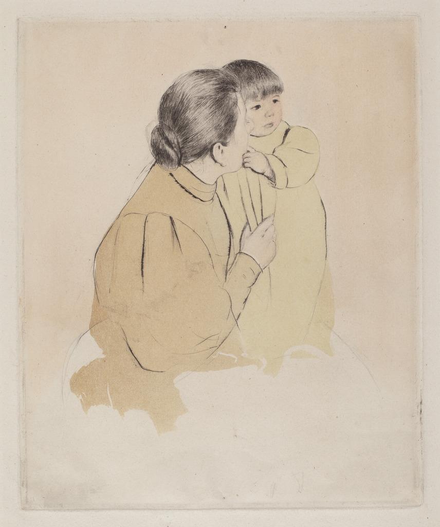 mary cassatt peasant mother and child ca 1894 artsy