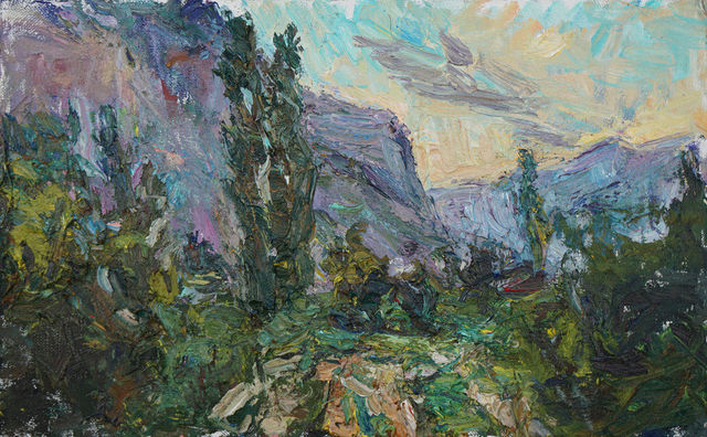 , 'Southern Landscape (Sunrise in the Caucasus),' 2017, Gallery 1261