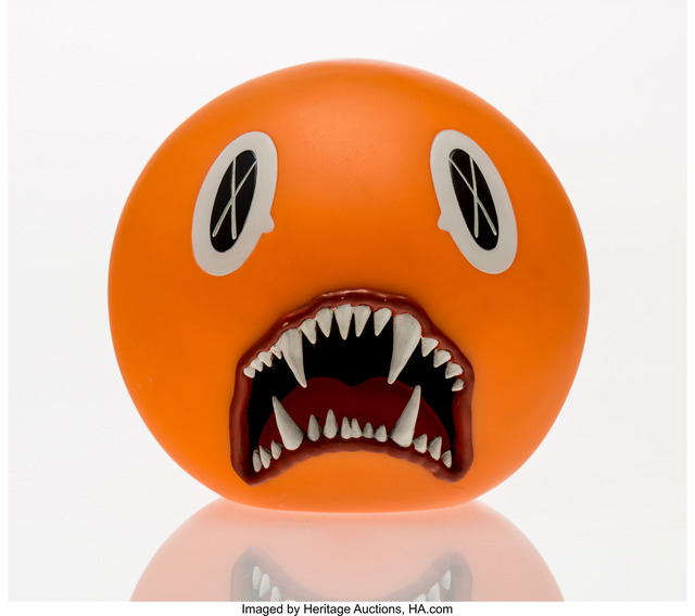 KAWS, 'Cat Teeth Bank (Orange)', 2007, Heritage Auctions
