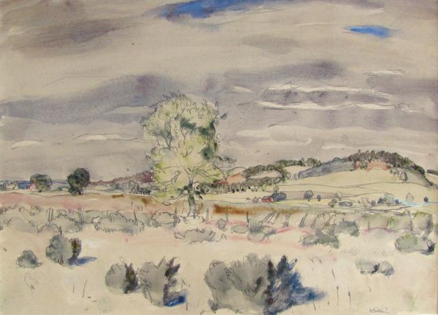 , 'Tweedside Landscape,' , The Scottish Gallery