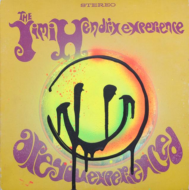 , 'Jimi Hendrix - Are You Experienced,' 2018, ABXY