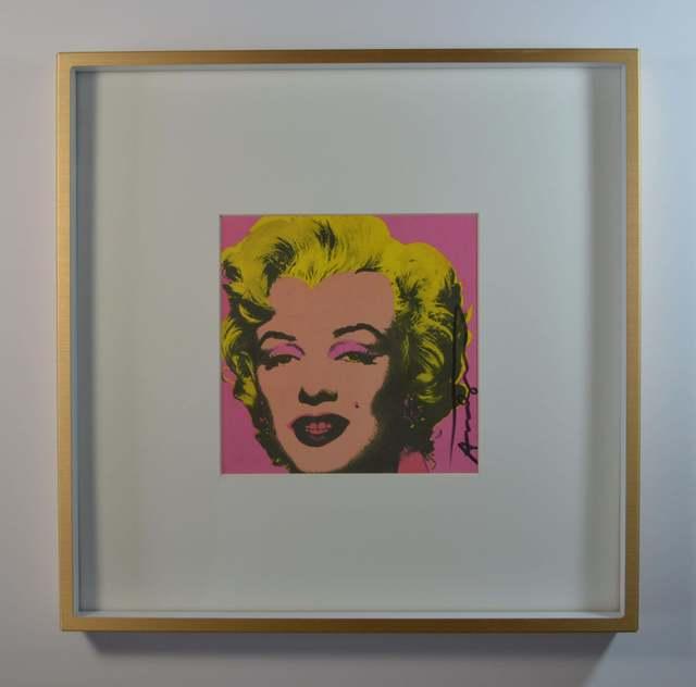 Andy Warhol, 'Marilyn (Announcement)', 1981, Print, Screenprint in colors, New River Fine Art